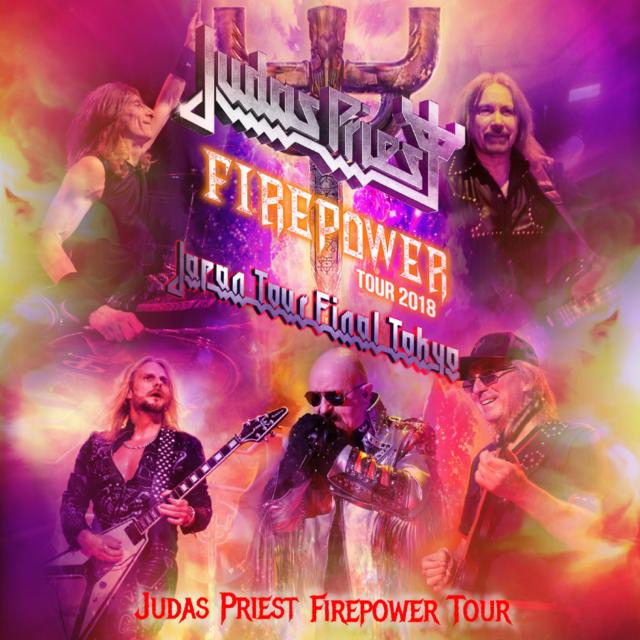 コレクターズCD Judas Priest - Firepower Japan Tour 2018