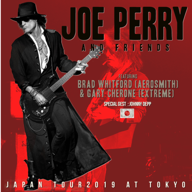 コレクターズCD Joe Perry and Friends - Japan Tour2019