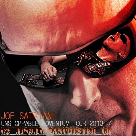 コレクターズCD ジョー・サトリアーニ 2013年ヨーロッパツアー