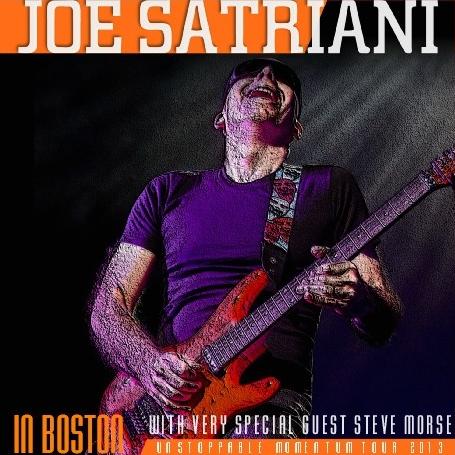 コレクターズCD ジョー・サトリアーニ2013年アメリカツアー Unstoppable Momentum Tour