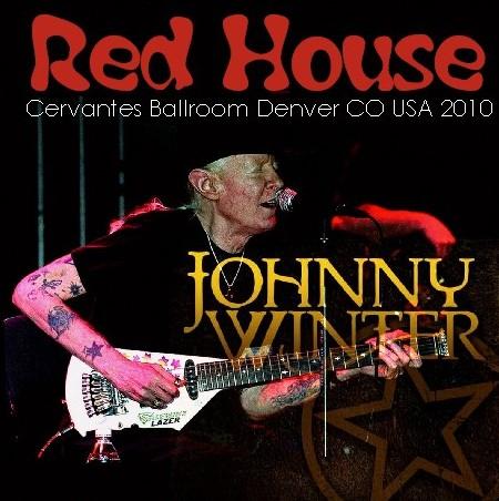 コレクターズCD Johnny Winter(ジョニー・ウインター 2010年アメリカツアー)Denver 2010.09.30