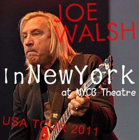 コレクターズCD Joe Walsh(ジョー・ウォルシュ) 2011年アメリカツアー
