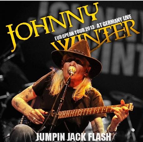 コレクターズCD ジョニー・ウインター2013年ヨーロッパツアー