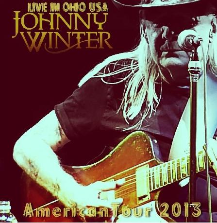 コレクターズCD ジョニーウインター 2013年アメリカツアー