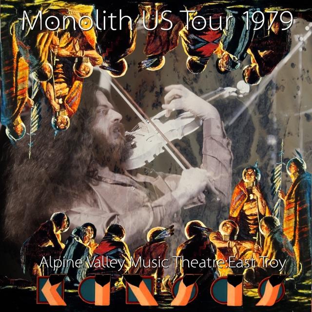 コレクターズCD Kansas - Monolith US Tour 1979