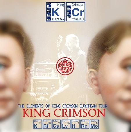 コレクターズCD キングクリムゾン2015年ヨーロッパツアー The Elements of King Crimson European Tour