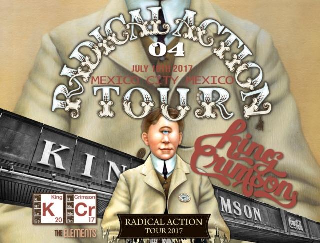 コレクターズCD King Crimson - Radical Action Tour 2017