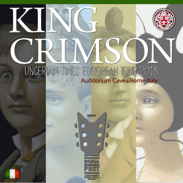 コレクターズCD King Crimson - Uncertain Times Tour 2018