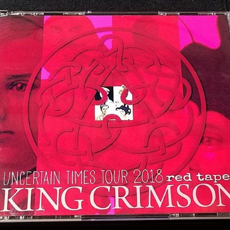 コレクターズCD King Crimson 【Uncertain Times Tour 2018 red tapes】