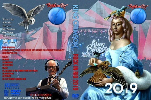 コレクターズDVD King Crimson - Rock in Rio 2019