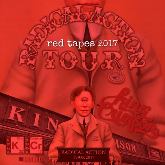 コレクターズCD キングクリムゾン 2017年アメリカ公演
