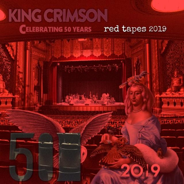 コレクターズCD King Crimson - red tapes 2019