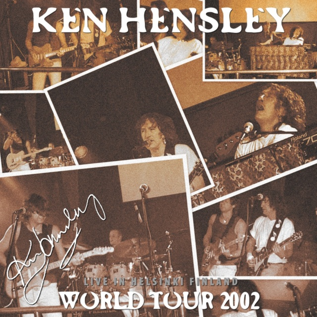 コレクターズCD Ken Hensley - Running Blind Tour 2002