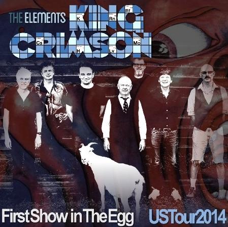 コレクターズCD キング・クリムゾン2014年アメリカツアー