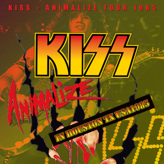 コレクターズCD Kiss - Animalize Tour 1985