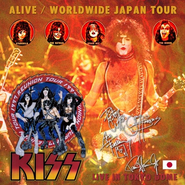 コレクターズCD Kiss - Alive/Worldwide Japan Tour 1997