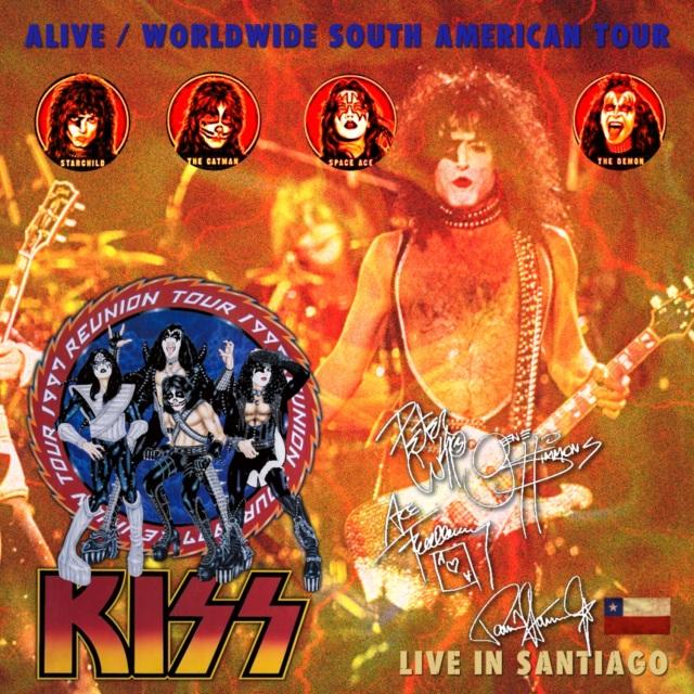 コレクターズCD Kiss - Alive/Worldwide South American Tour 1997