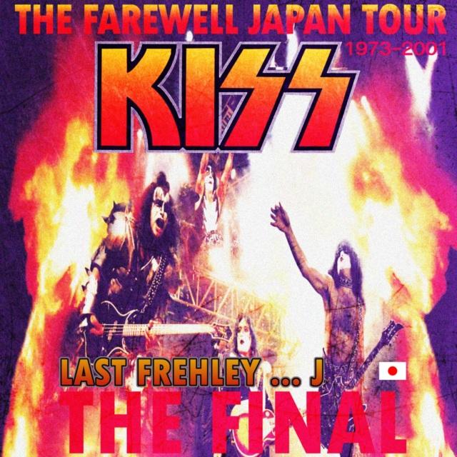 コレクターズCD Kiss - Farewell Japan Tour 2001