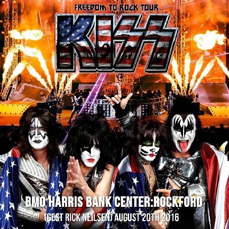 コレクターズCD キッス 2016年アメリカツアー(Freedom to Rock Tour 2016)