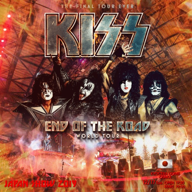 Kiss - End of the Road Japan Tour 2019 Tokyo 完全盤