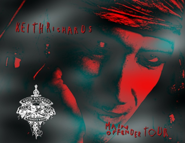 コレクターズCD Keith Richards - Main Offender Tour 1992