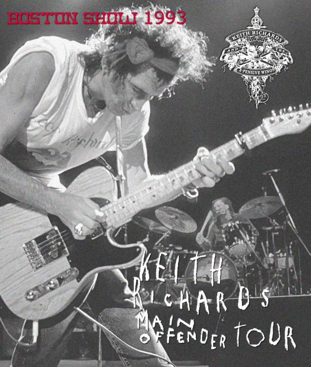 コレクターズBlu-ray - Keith Richards and the X-Pensive Winos - Main Offender Tour 1993