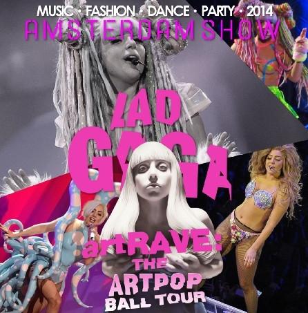 コレクターズCD レディー・ガガ 2014年ヨーロッパツアー (ArtRave: The Artpop Ball Tour)