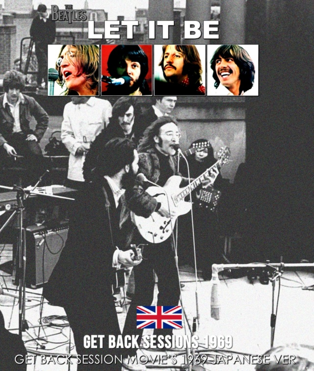 コレクターズBlu-ray  The Beatles - Get Back Session Movie's 1969