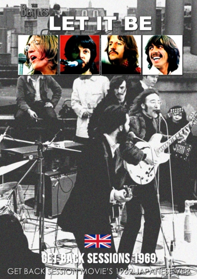 コレクターズDVD  The Beatles - Get Back Session Movie's 1969