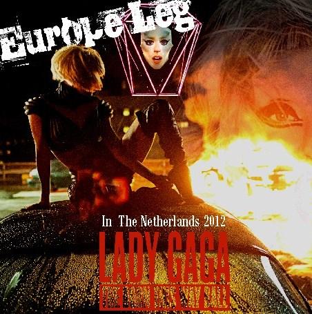 コレクターズCD Lady Gaga(レディー・ガガ)2012年ヨーロッパツアー