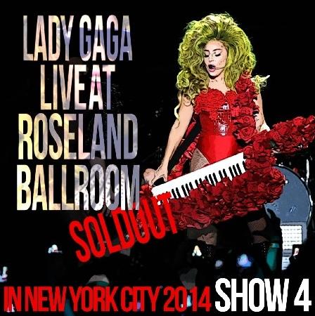 コレクターズCD レディー・ガガ(Lady Gaga)2014年4月2日 NY