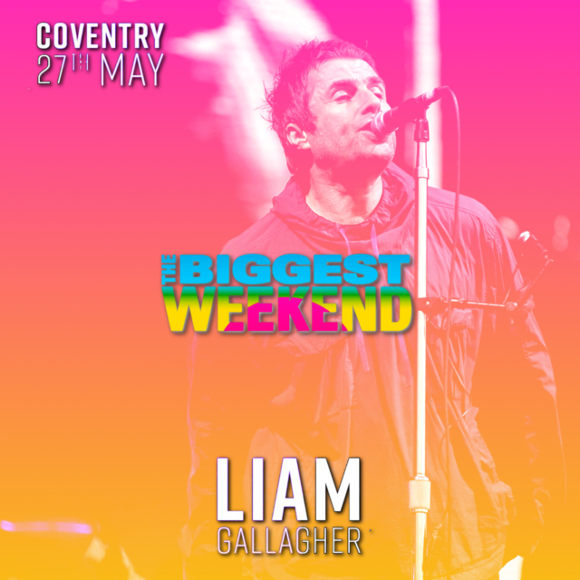 コレクターズCD Liam Gallagher - BBC Music's The Biggest Weekend 2018
