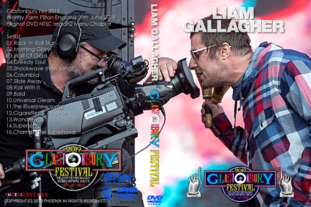 コレクターズDVD Liam Gallagher - Glastonbury Fes 2019