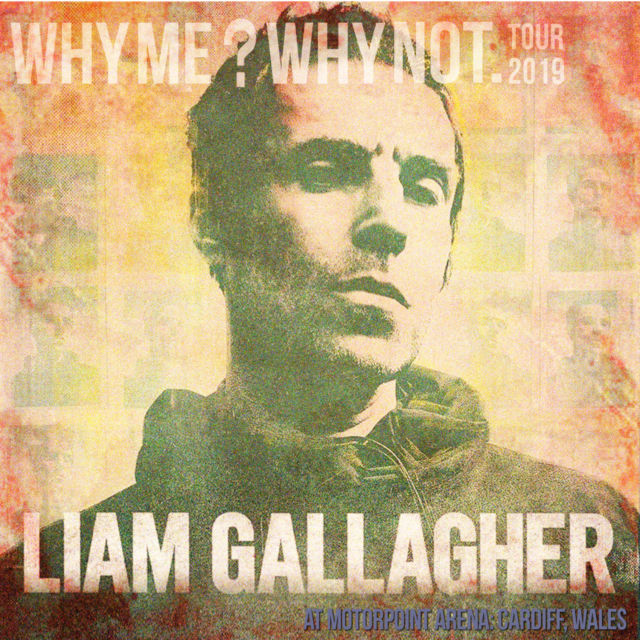 コレクターズCD Liam Gallagher - Why Me? Why Not Tour 2019