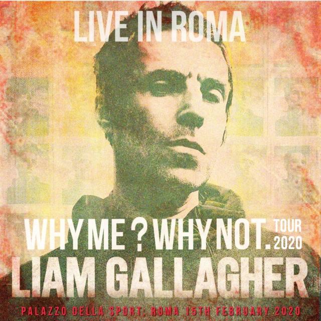 コレクターズCD Liam Gallagher - Why Me? Why Not. European Tour 2020