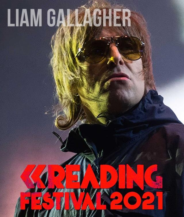 コレクターズBlu-ray  Liam Gallagher - Reading Festival 2021