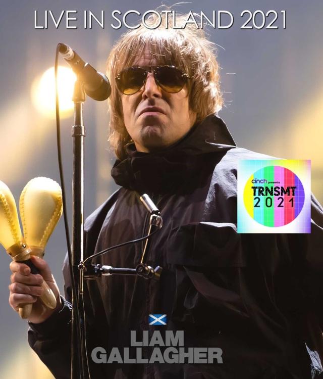 コレクターズBlu-ray  Liam Gallagher - Live in Scotland 2021