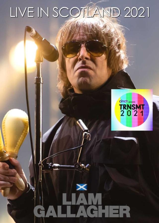 コレクターズDVD  Liam Gallagher - Live in Scotland 2021