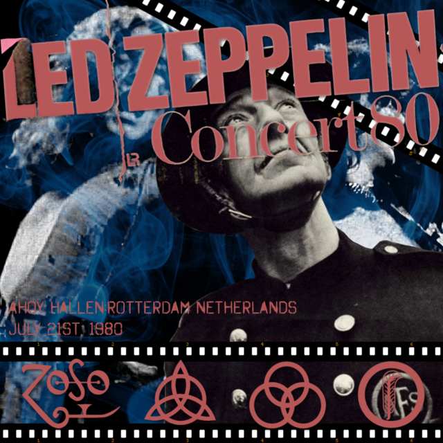 コレクターズCD Led Zeppelin 1980年ヨーロッパツアー