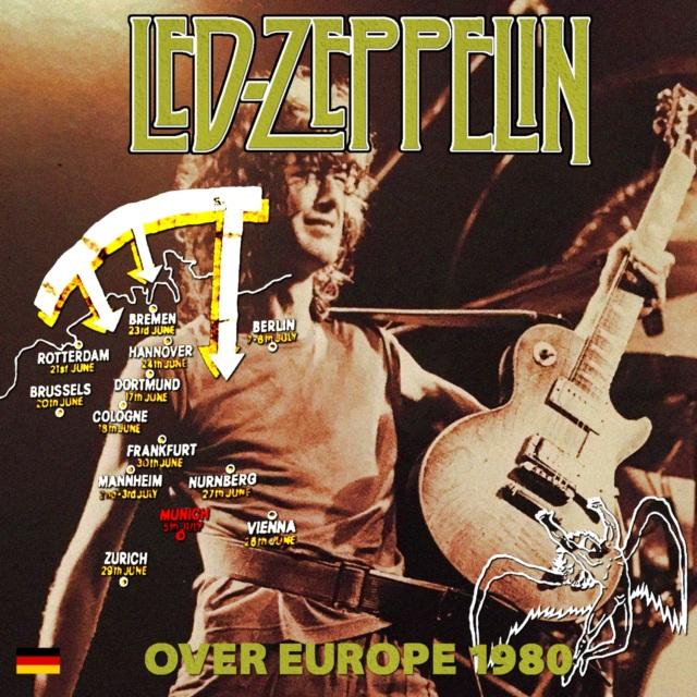 コレクターズCD Led Zeppelin - Tour Over Europe 1980