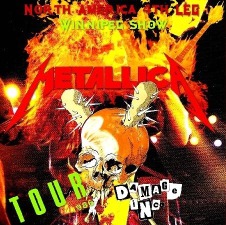 コレクターズCD メタリカ1986年アメリカンツアー