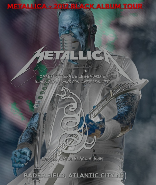 コレクターズBlu-ray Metallica - 2012 Black Album Tour