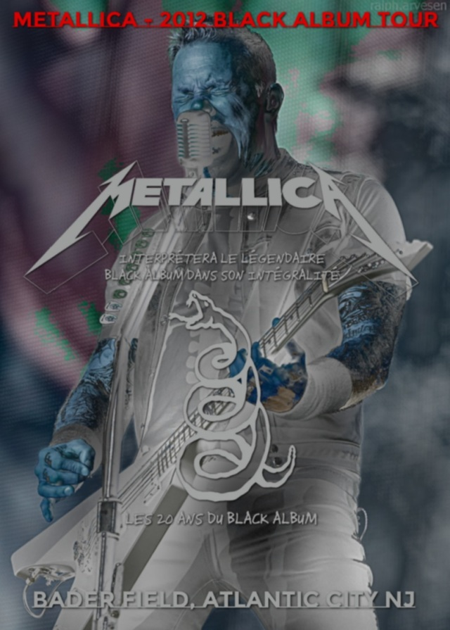 コレクターズDVD Metallica - 2012 Black Album Tour