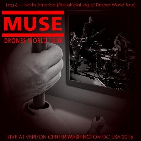 コレクターズCD ミューズ2016年アメリカツアー(Drones World Tour 2016)