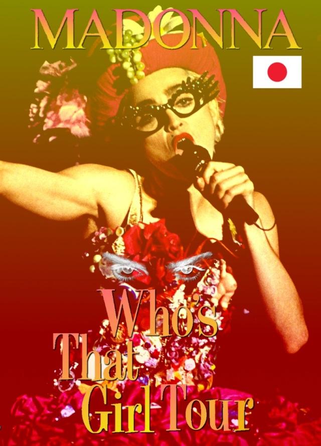 コレクターズDVD  Madonna -  Who's That Girl Japan Tour 1987 Final