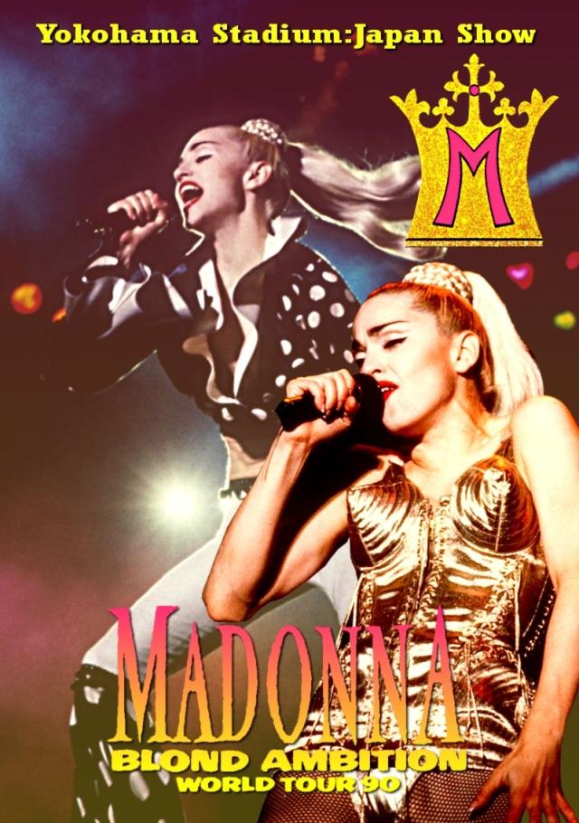 コレクターズDVD  Madonna - Blond Ambition Tour 1990