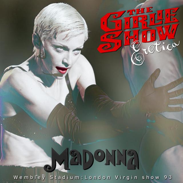 コレクターズCD Madonna - The Girlie Show Tour 1993