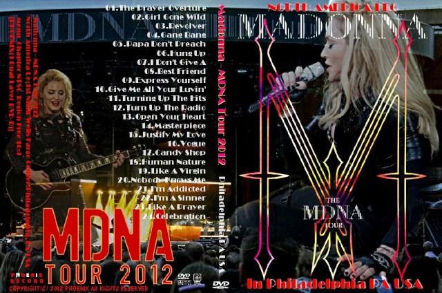コレクターズDVD マドンナ 2012年北米公演 (MDNA Tour 2012)