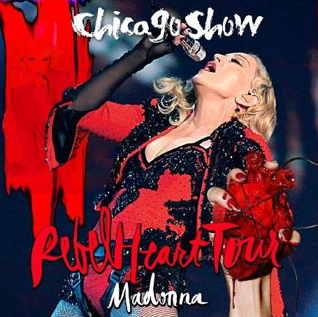 コレクターズCD マドンナ 2015年ワールドツアー(Rebel Heart Tour 2015)