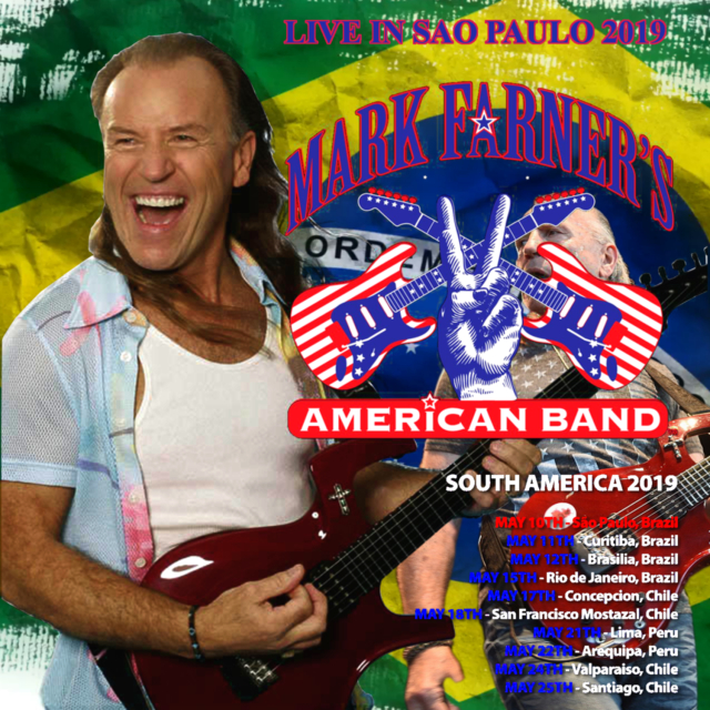 コレクターズCD Mark Farner - At Brazil 2019